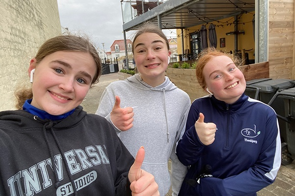 Vi løb for Danmarks indsamlingen